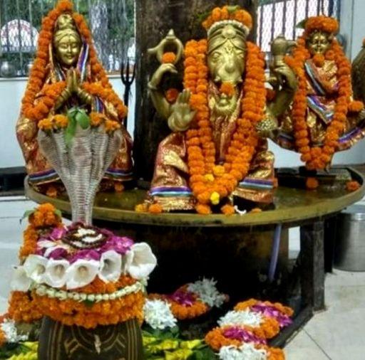 Shiva Family (Shiv-Parivar) Puja and Homa