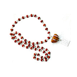 Special Ek Mukhi Mala (Silver capped with 54 small beads)