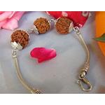 Power Rudraksha Bracelet in Silver