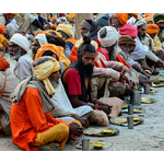 Brahm-Bhoj (Feeding Brahmins) in Kumbh