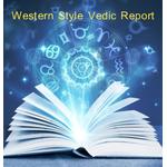 Western Style Vedic Horoscope Report Readings