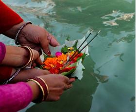 Ganga Puja in Kumbh