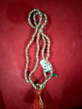 Rudraksha Mala (Silver Capped)